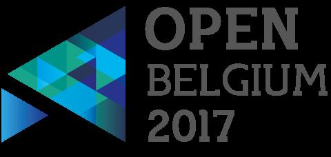 Logo open Belgium 2017